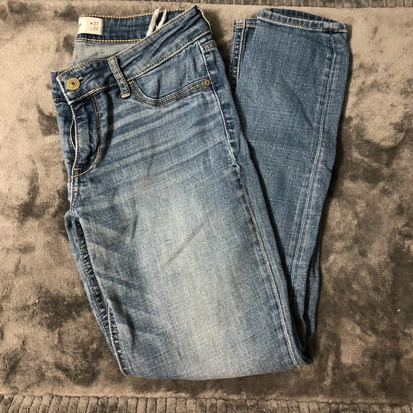 Abercrombie & Fitch Denim - Abercrombie & Fitch Skinny Jeans Medium Wash 4S